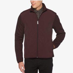 Perry Ellis Full Zip Textured Jacket